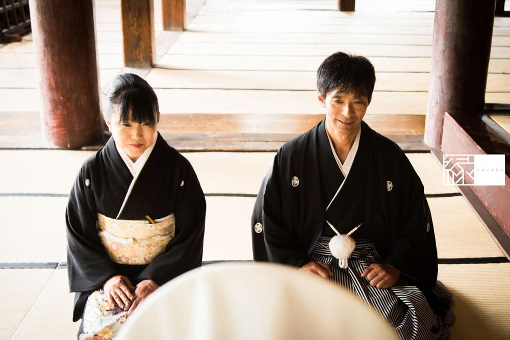 フォト婚和装鎌倉縁家族着付け26