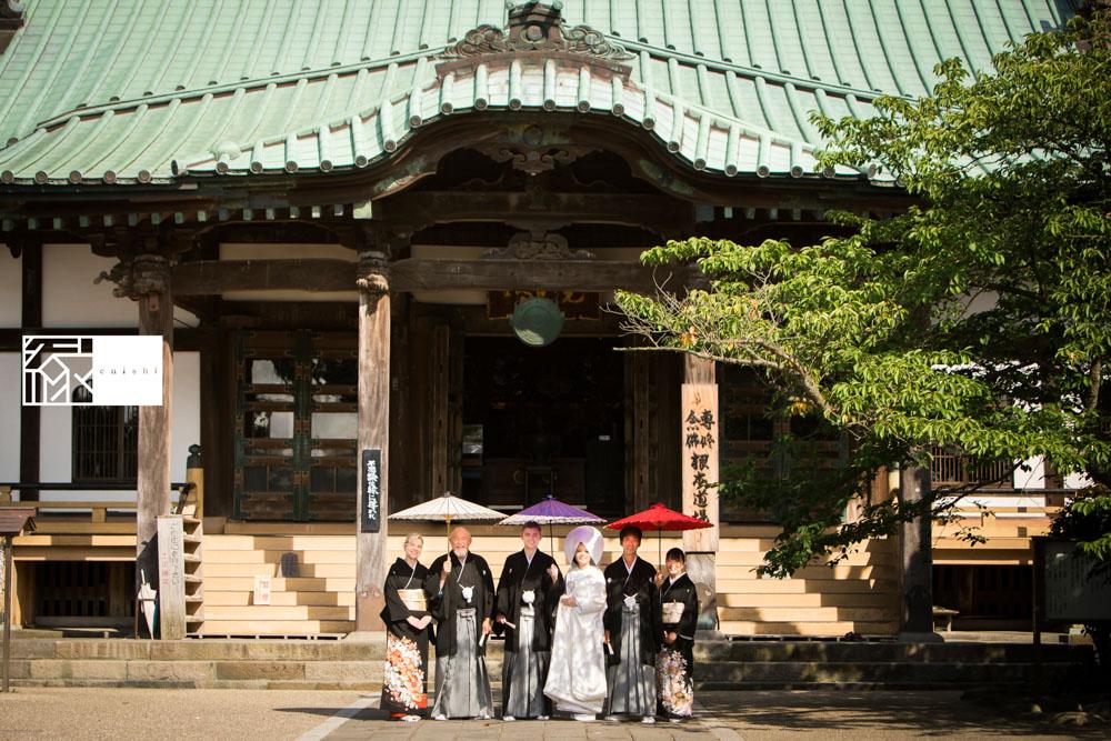 フォト婚和装鎌倉縁家族着付け29