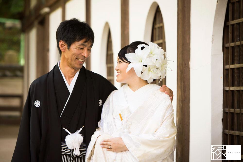 フォト婚和装鎌倉縁家族着付け34