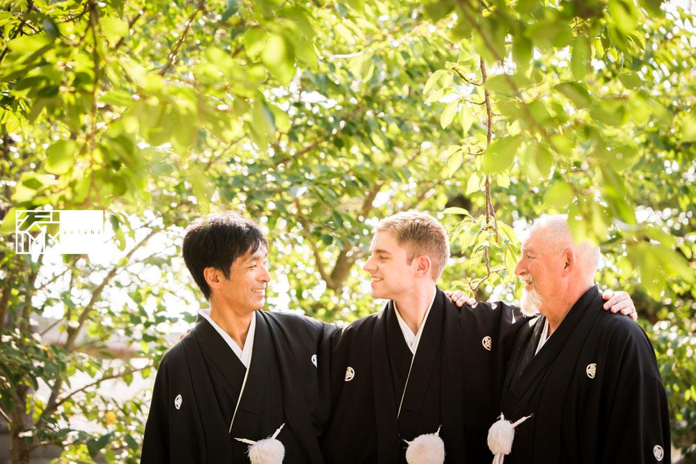 フォト婚和装鎌倉縁家族着付け35