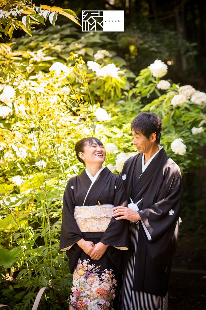 フォト婚和装鎌倉縁家族着付け32