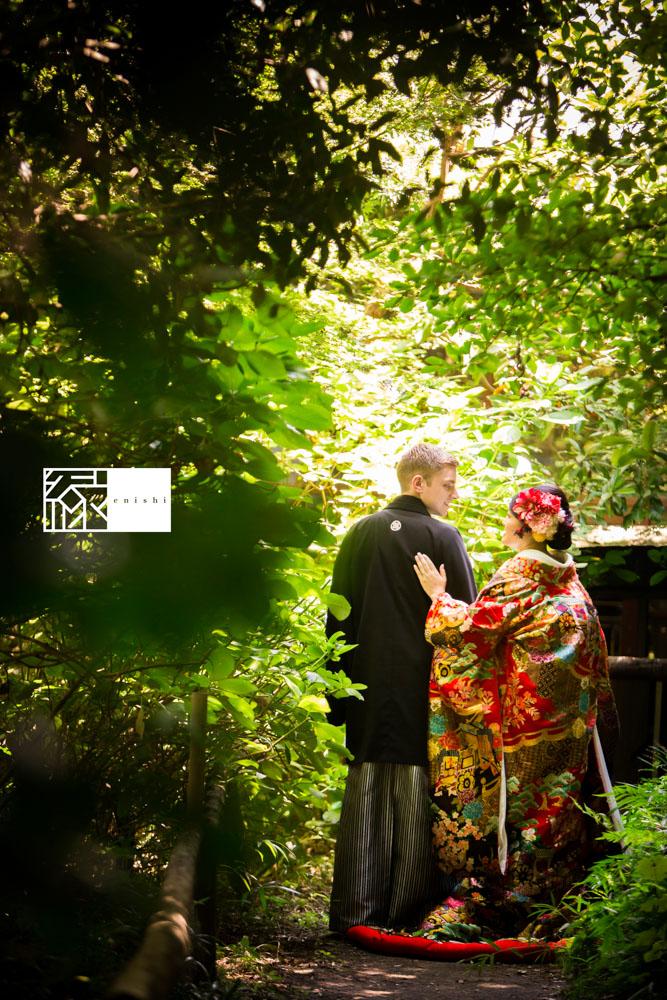 フォト婚和装鎌倉縁家族着付け18