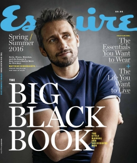 Esquire THE BIG BLACK BOOK - Spring/Summer 2016