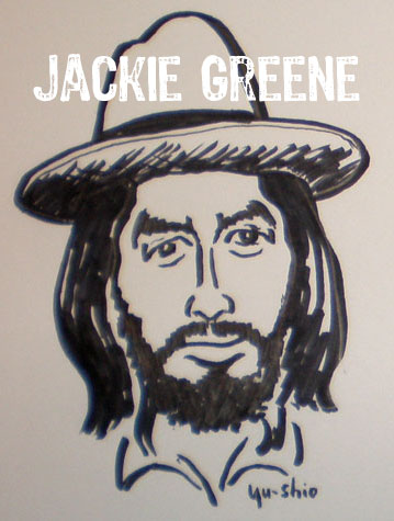 Jackie Greene caricature