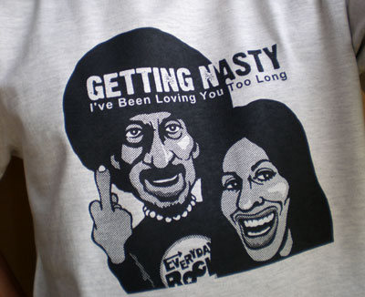 Ike & Tina Turner T Shirt caricature