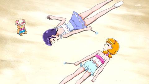 【魔法つかいプリキュア!】第25話「夏だ!海だ!大はしゃぎ!かき氷が食べた~いっ!」