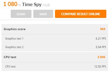 【3DMark Basic Edition】Time Spy