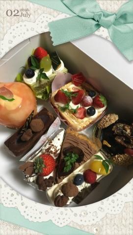2016 さゆ誕生日ケーキ