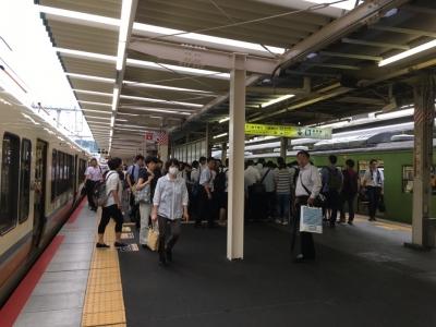20160829奈良線 - 1
