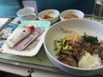 イギリス旅行機内食1