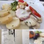 イギリス旅行機内食3