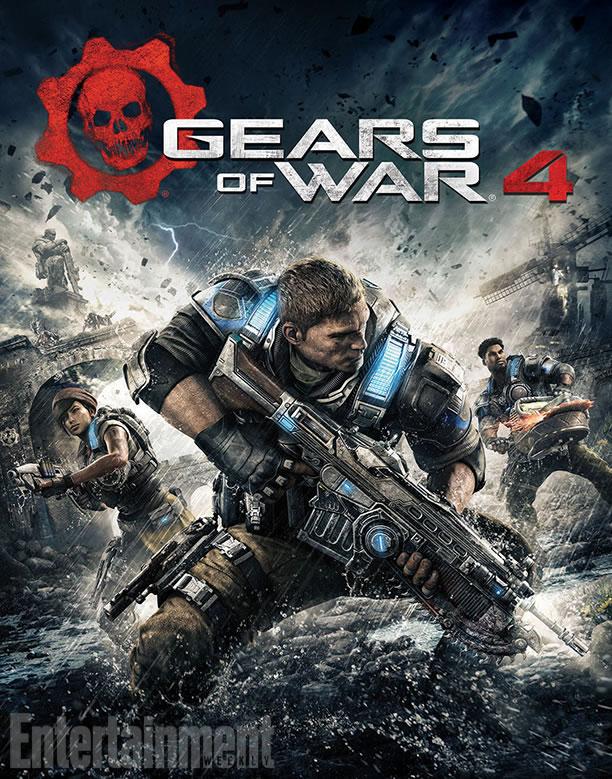 """新たに公開された""""Gears of War 4""""のボックスアート"""