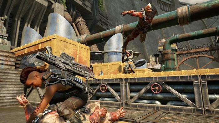 マルチプレイヤーの新要素をまとめた「Gears of War 4」の新たなゲームプレイトレーラーがお披露目