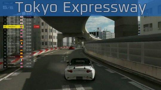 Gran Turismo Sport - Tokyo Expressway Gameplay