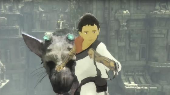 「人喰いの大鷲トリコ」の新たなゲーム情報が明らかに