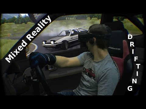 More Mixed Reality Fun The World of Drifting in Assetto Corsa