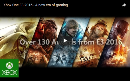 New video highlights all the Xbox One games introduced at E3 2016