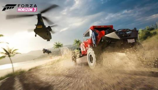 Forza Horizon 3 Standard and Deluxe Editions now available