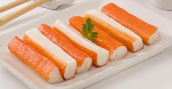 フランスではダイエット食品:カニかまぼこ