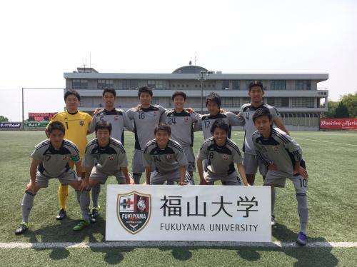 第40回(2016年度)中国大学サッカー選手権 3回戦(2016:5:22 日)1/4