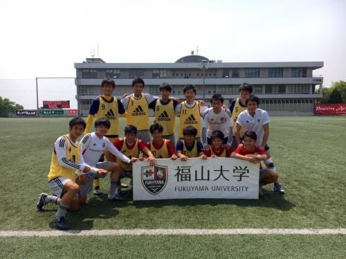 第40回(2016年度)中国大学サッカー選手権 3回戦(2016:5:22 日)2/4