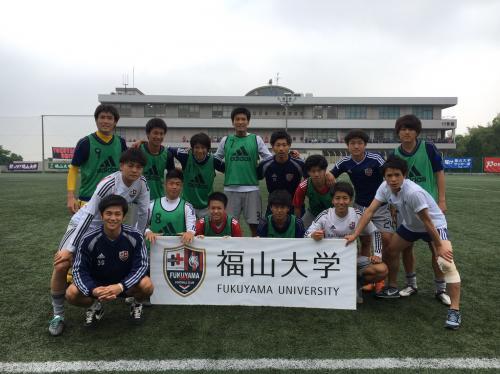 第40回(2016年度)中国大学サッカー選手権 準決勝(2016:5:28 土) 2/6