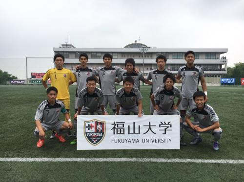第40回(2016年度)中国大学サッカー選手権 準決勝(2016:5:28 土) 4/6