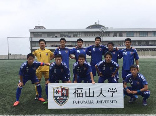 第40回(2016年度)中国大学サッカー選手権 決勝(2016:5:29 日) 5/7
