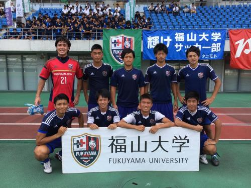 第40回(2016年度)総理大臣杯全日本大学サッカートーナメント 1回戦(2016:8:6 土~7 日) 2/4