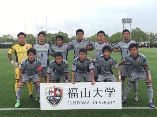 第39回(2016年度)中国大学サッカーリーグ 第10節(2016:9:4 日) 1/4