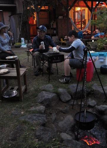 お庭パーティ1