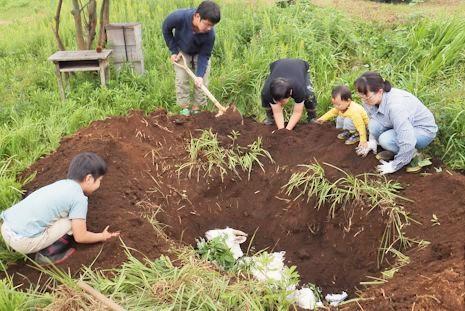 草太の埋葬