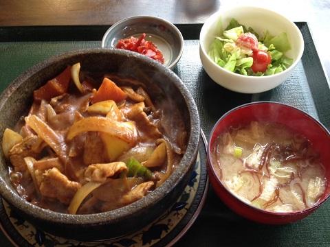 豚肉野菜カレー