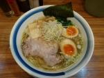 柚子塩ラ―麺味玉入り@麺屋楼蘭