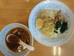 しょうゆつけ麺@ぎょうざの満洲江坂工場直売店