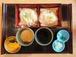 乾麺生麺味比べ@寛文五年堂秋田店