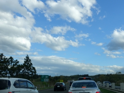 東北道の渋滞