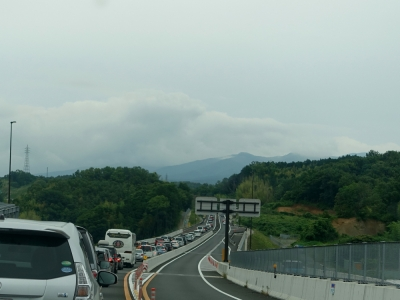 伊豆縦貫道の渋滞