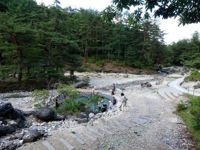 草津温泉 西の河原公園
