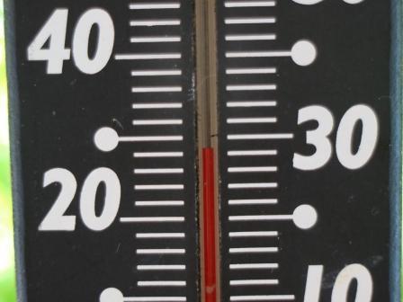 気温29度