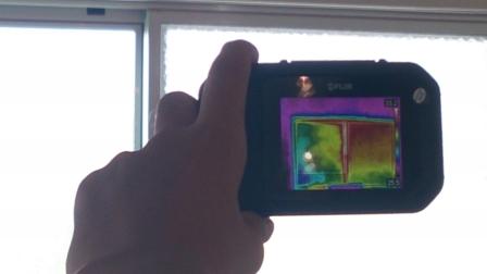 サーモカメラ ペアガラス