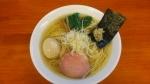 有彩 魚介鶏だし塩ラーメン+味玉 16.9.28