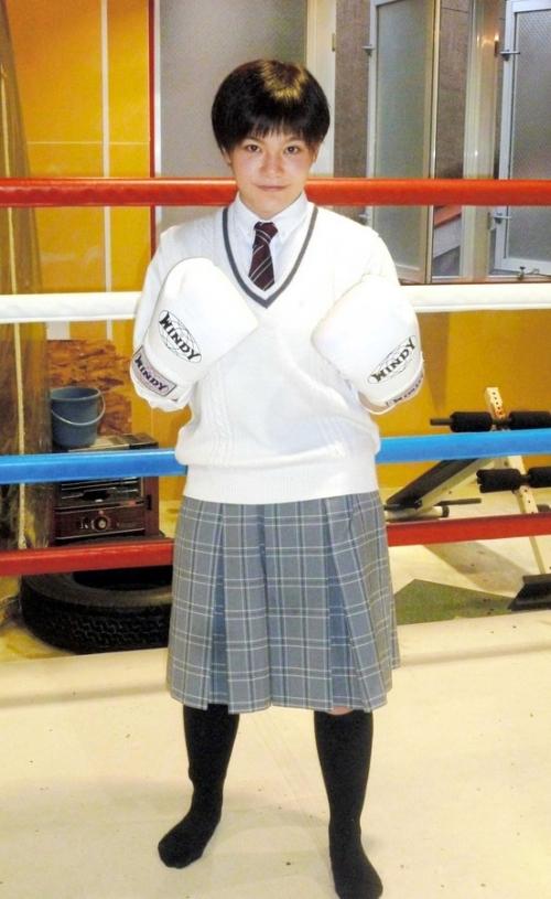 女子高生ボクサー小村楓香(19)、新規電力会社とタッグ