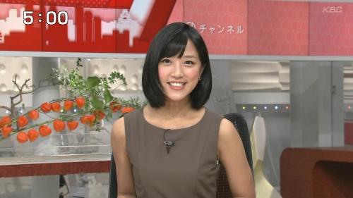 竹内由恵ちゃんのエロエロノースリーブ