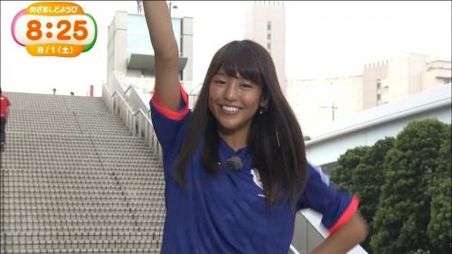 黒すぎる岡副麻希アナ、今年は黒さ控えめで人気の証し?