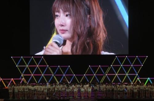 【NMB48】初期メン・岸野里香、涙で卒業を発表「本格的な歌手を目指す」