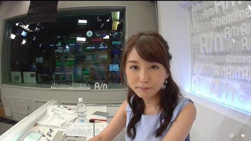 女子アナ志望の超かわいい早稲田政経4年の垣内麻里亜さんがAbamaニュースに登場