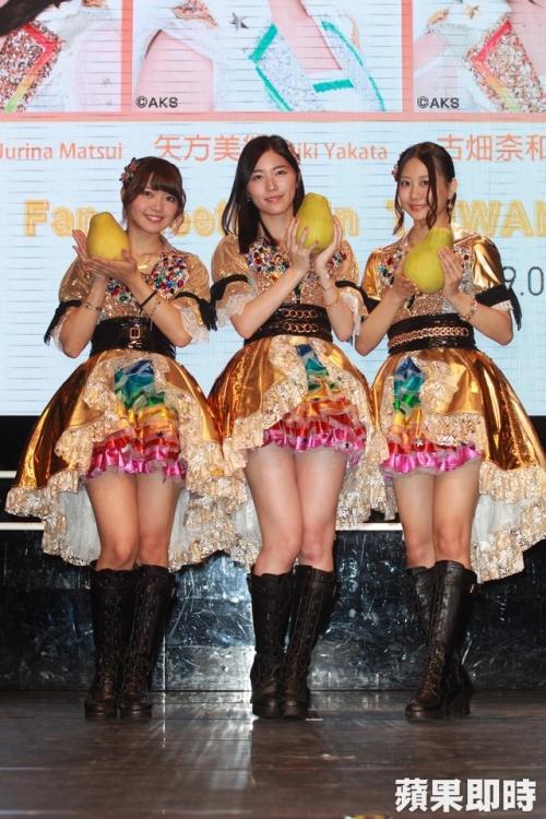 【SKE48】松井珠理奈ら3人が参加の台湾ファンミでファン男性がハサミ所持 一時緊張