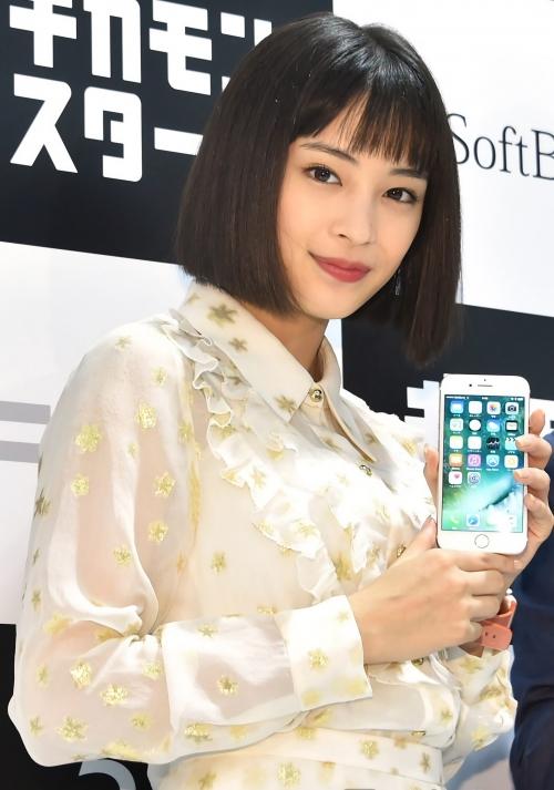 広瀬すず『iPhone 7』発売に「歴史的瞬間に立ち会えた」