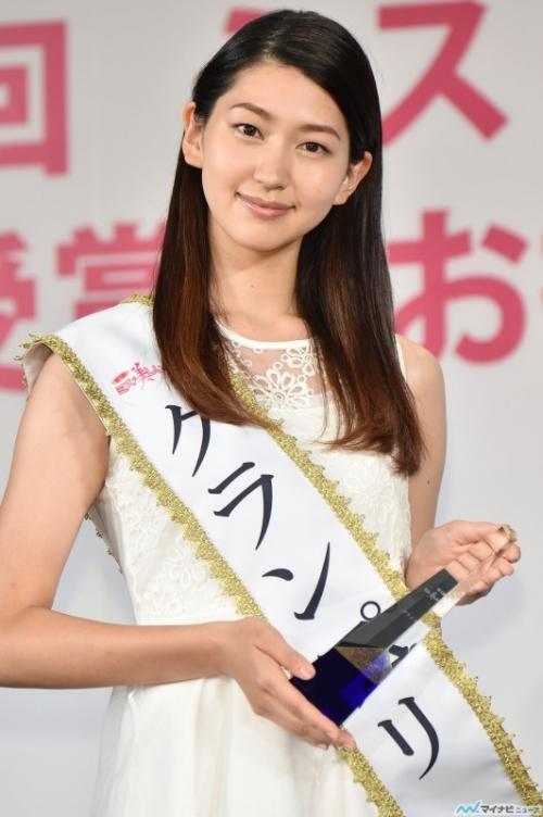 「ミス美しい20代コンテスト」開催、21歳の空手女子 是永瞳がグランプリに